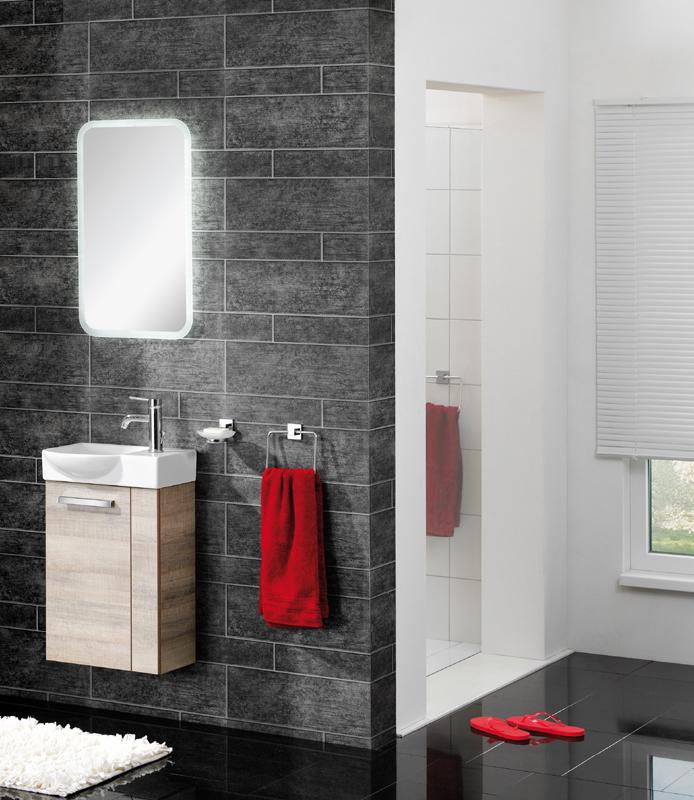 fackelmann a vero badm bel set g ste wc graueiche 3 teilig links ebay. Black Bedroom Furniture Sets. Home Design Ideas