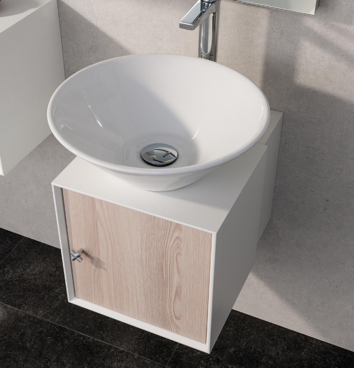 fackelmann ix badm bel set g ste wc set 1 alaska esche neu ebay. Black Bedroom Furniture Sets. Home Design Ideas